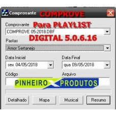 Comprove Para Playlist Digital 5.0.6.16